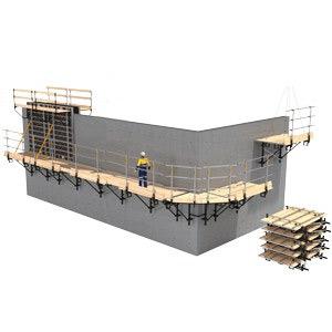 Plataformas de trabalho perimetrais